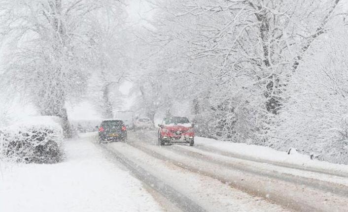 Meteoroloji Orta ve Doğu Karadeniz için uyardı - Kuvvetli sağanak ve yoğun kar