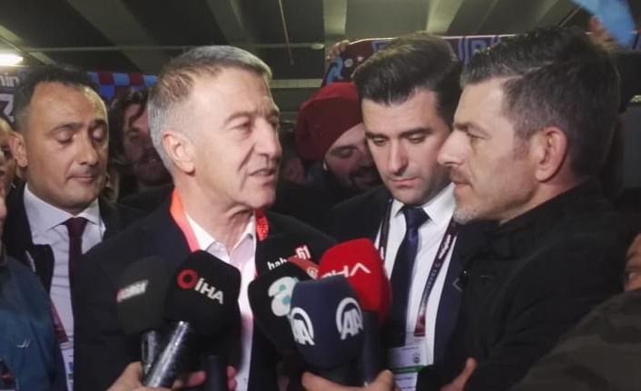 Ağaoğlu: Hakemi de yendik!