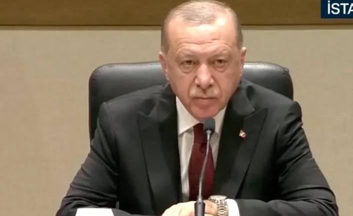 Erdoğan'dan hain saldırıya tepki
