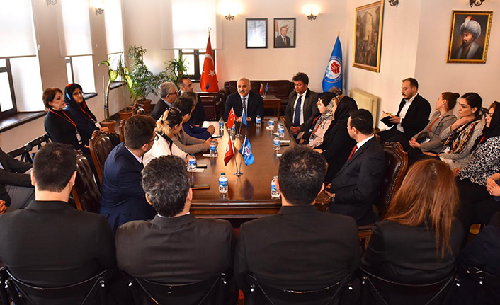 İranlı seyahat acentesi sahipleri Trabzon'da ağırlandı