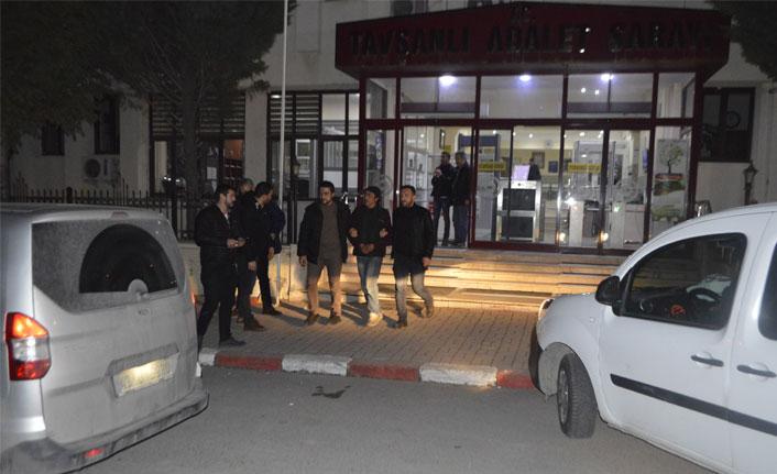 Kasa hırsızları kısa sürede polise yakalandı