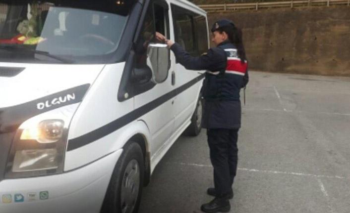 Trabzon'da okul servisleri denetlendi, ceza yağdı!