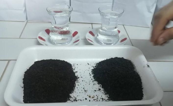 Çaydaki boya hilesi nasıl anlaşılır? işte yöntemi!