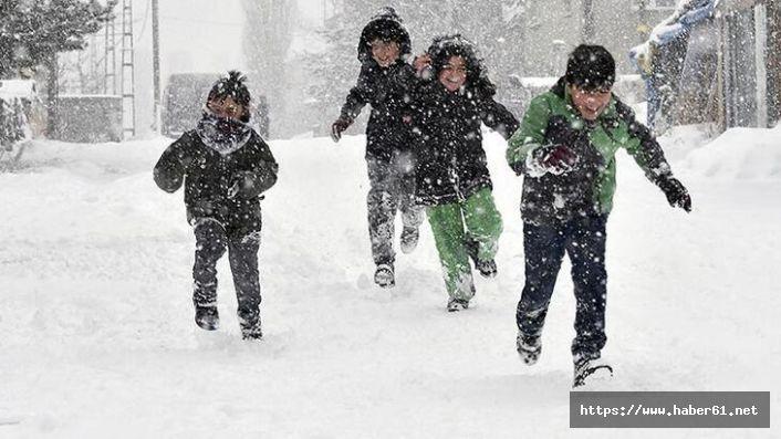 Trabzon'da eğitime kar engeli!