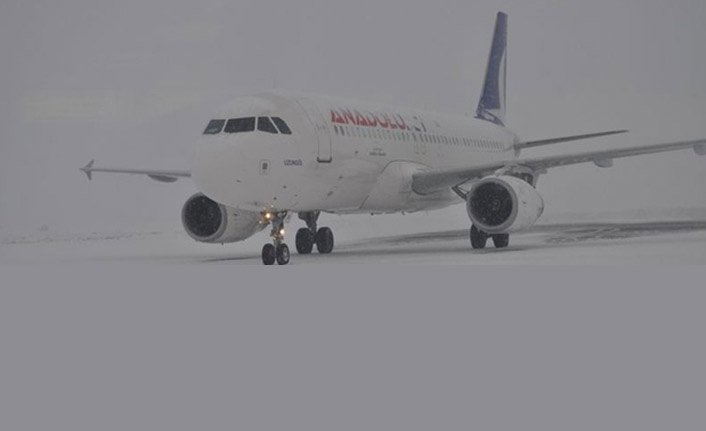 Trabzon'da uçak seferleri iptal!