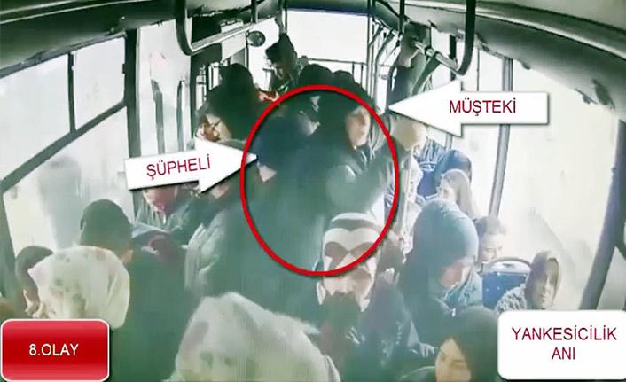 Durak ve otobüslerde yankesicilik yapan şahıs yakalandı