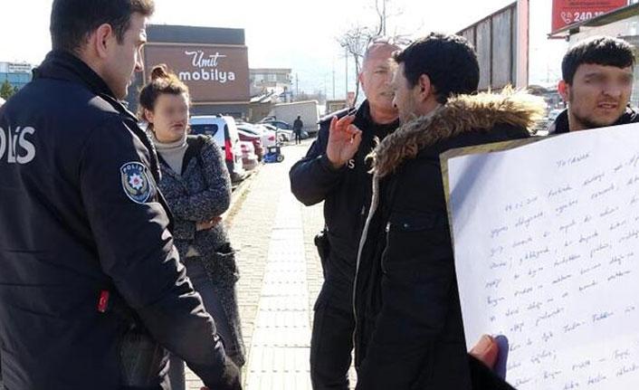 Bursa'da ilginç olay! Kaçan kızını eve götürmek isterken karakolluk oldu