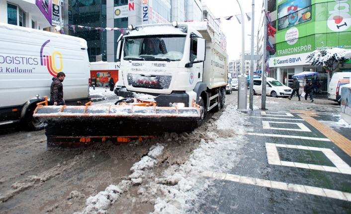 Trabzon Büyükşehir Belediyesi'nden buzlanma uyarısı