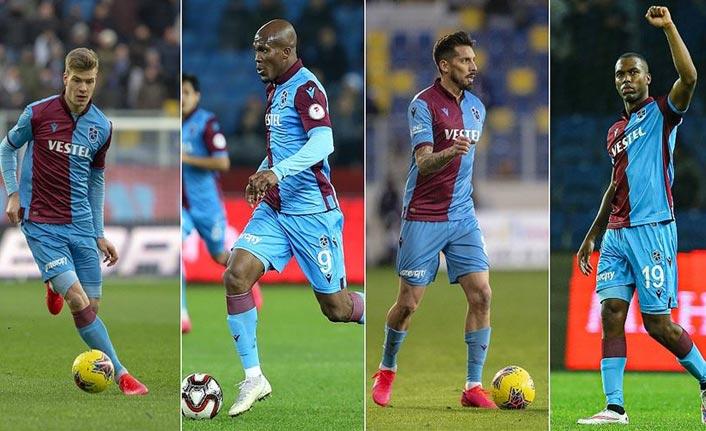 Trabzonspor'un golcü dörtlüsü