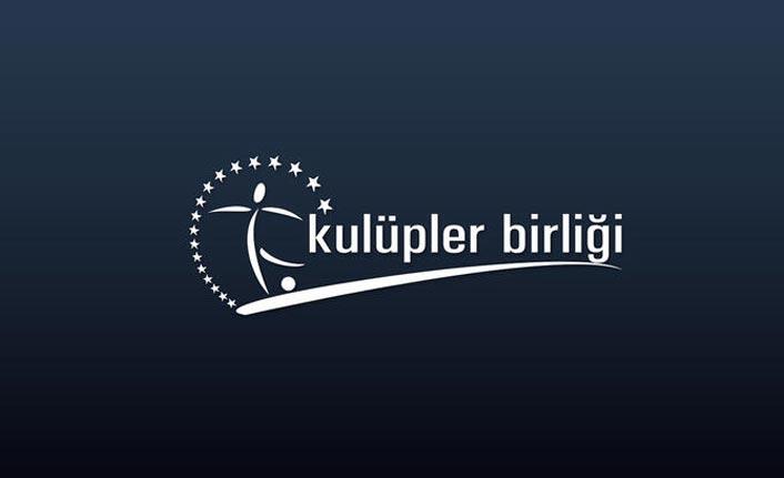 Kulüpler Birliği toplantısı başladı - Trabzonspor...