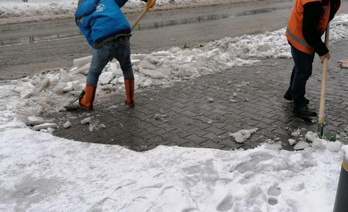 Trabzon'da hava durumu! Kar yağışı devam edecek mi?