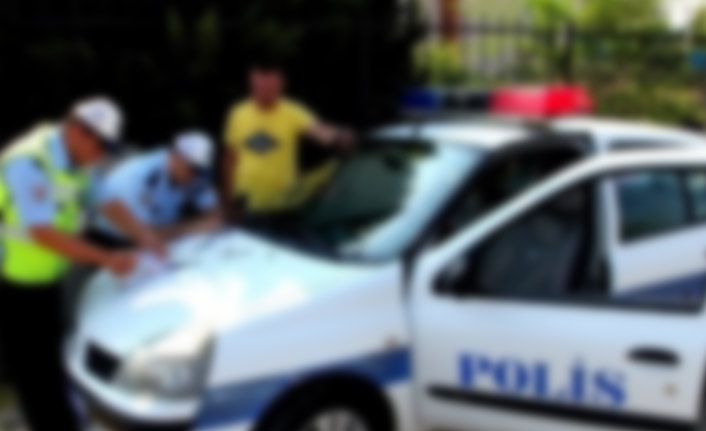 Trabzon'da 95 araç trafikten men edildi