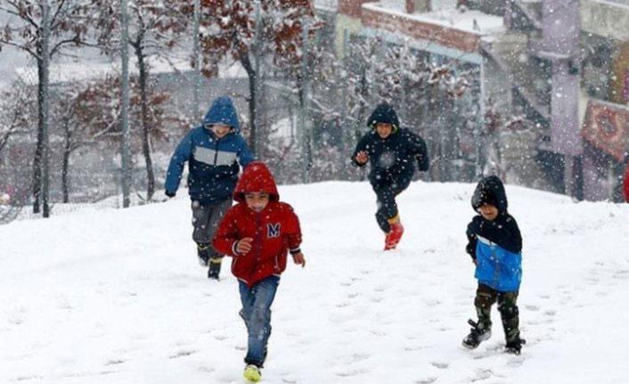Gümüşhane'de okullar yine tatil