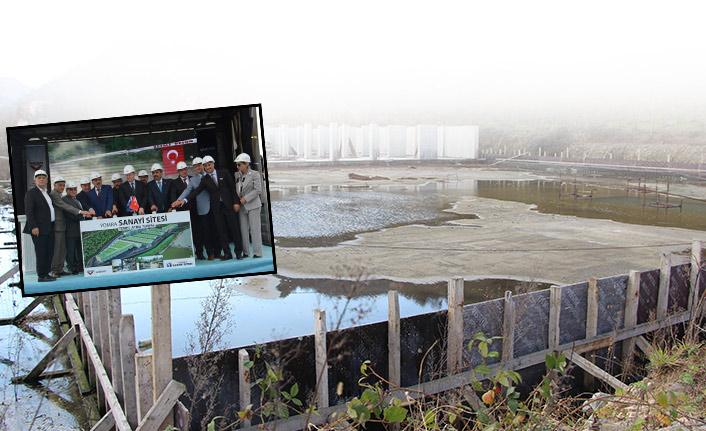 Trabzon'da görkemli bir şekilde temeli atılan inşaat durdu!