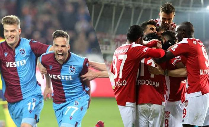 Ligin en golcü iki takımı karşı karşıya: Trabzonspor - Sivasspor