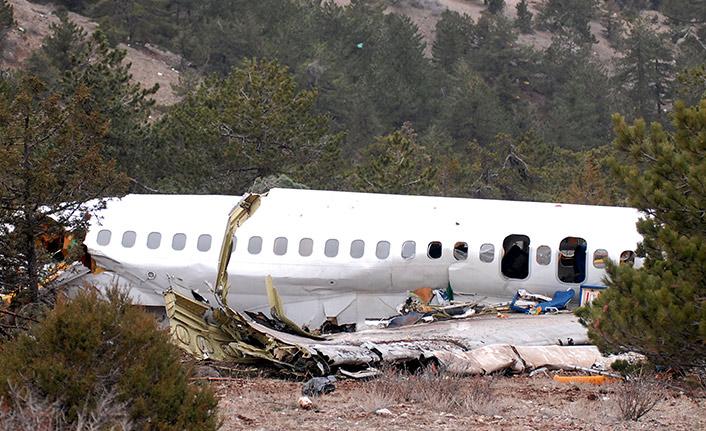 Isparta uçağı yüzde 99 düşürüldü