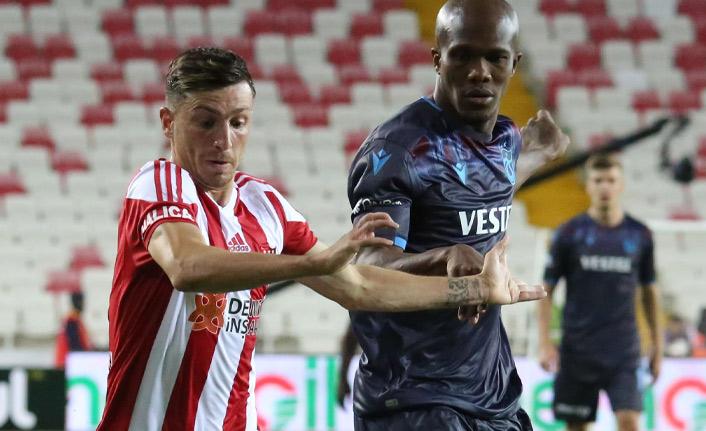 Trabzonspor içerde Sivasspor dışarda golcü