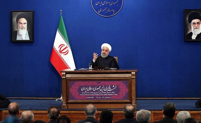 İran Cumhurbaşkanı Ruhani: ABD'nin savaş peşinde olmadığını düşünüyorum