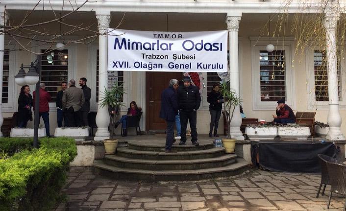 Trabzon Mimarlar Odası'nda kazanan belli oldu