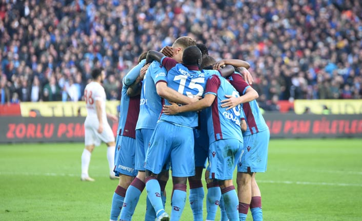 Trabzonspor 298 hafta sonra...