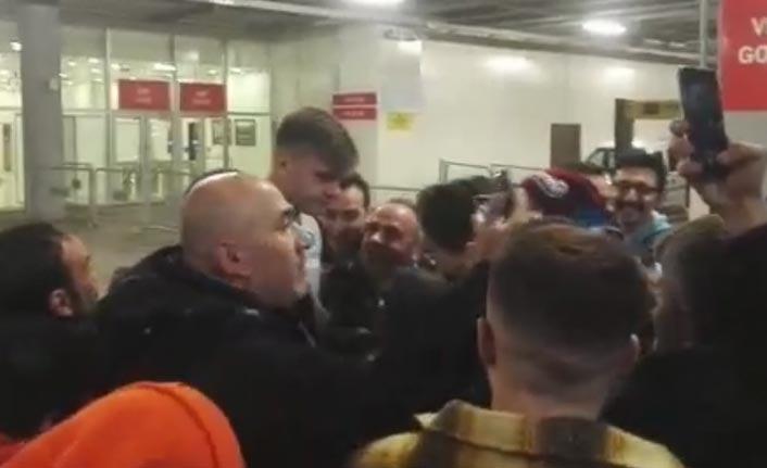 Trabzonspor taraftarları Sörloth'u bırakmadı
