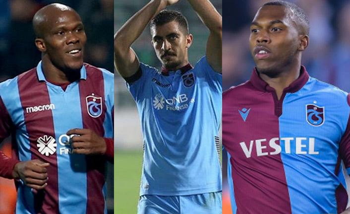 Trabzonspor'dan sakatlık açıklaması! Sturridge, Nwakaeme ve Hosseini...