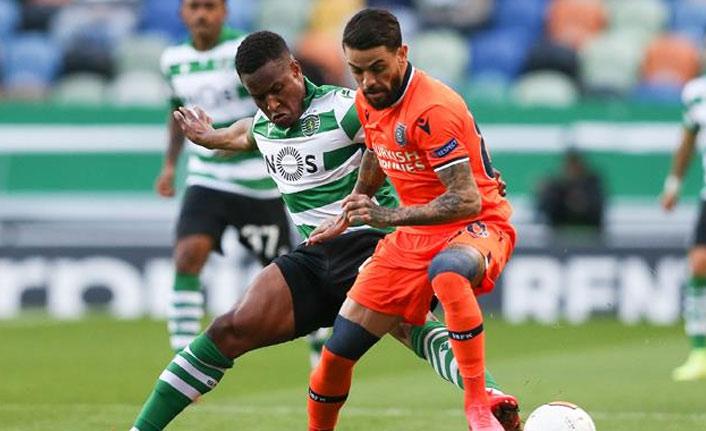Başakşehir, Sporting Lisbon'a yenildi
