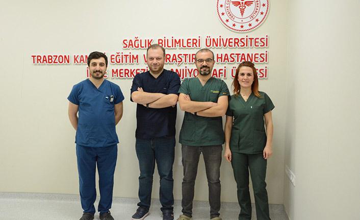Trabzon'da sağlık alanında bir ilk! Beyin damarları görüntülendi!