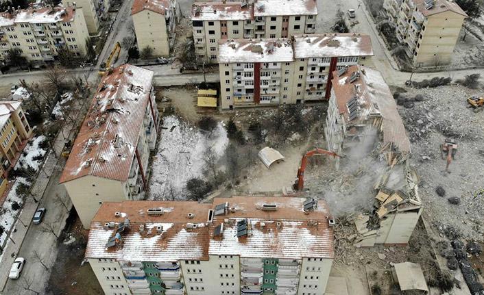 Elazığ'da 920 binanın yıkımı tamamlandı