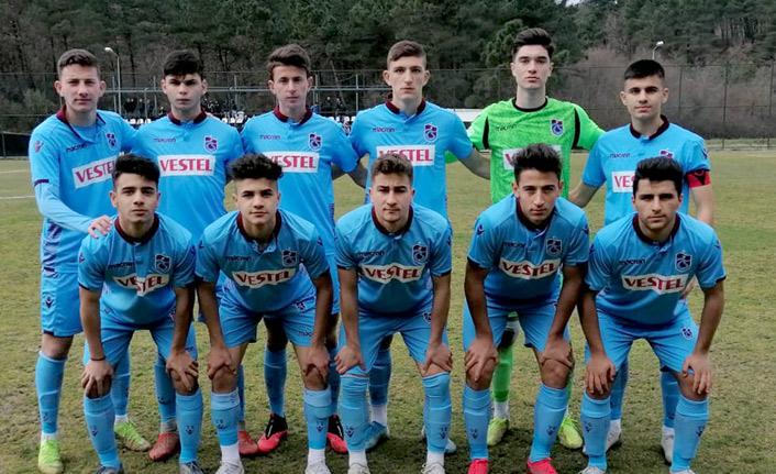 Trabzonspor'un gençleri Beşiktaş'ı rahat yendi