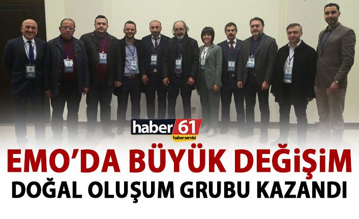 EMO Trabzon Şubesinde büyük değişim! Yeni başkanı belli oldu