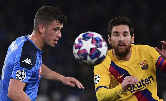 Barcelona Napoli'den avantajı aldı