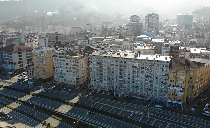Rize'de dolgu alanındaki kentsel dönüşüm için gün sayılıyor