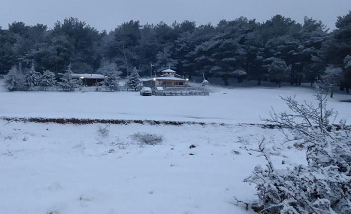 İzmir'de kar yağışı