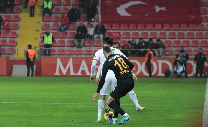 Kayserispor tek golle 3 puan aldı