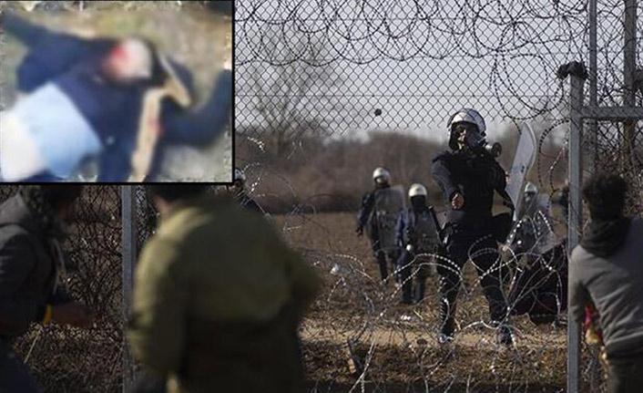Yunan askerinden müdahale! 1 göçmeni öldürdüler!