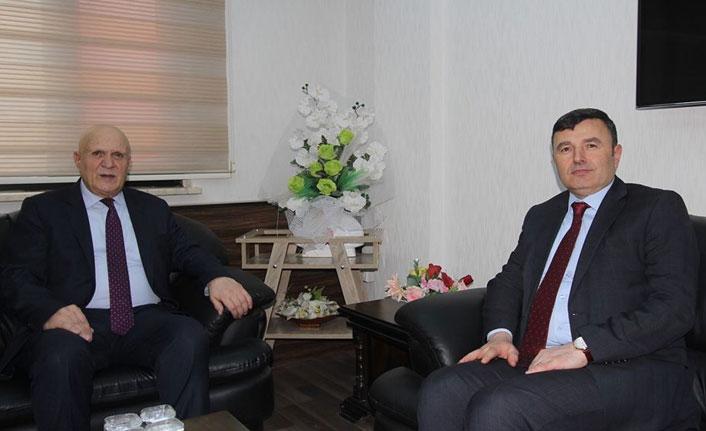 Emniyet Müdürü Bodur'dan Başkan Pekmezci'ye ziyaret