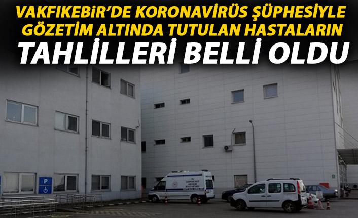 Trabzon'da 2 kişi koronavirüs şüphesiyle karantinaya alınmıştı! Tahlil sonuçları çıktı