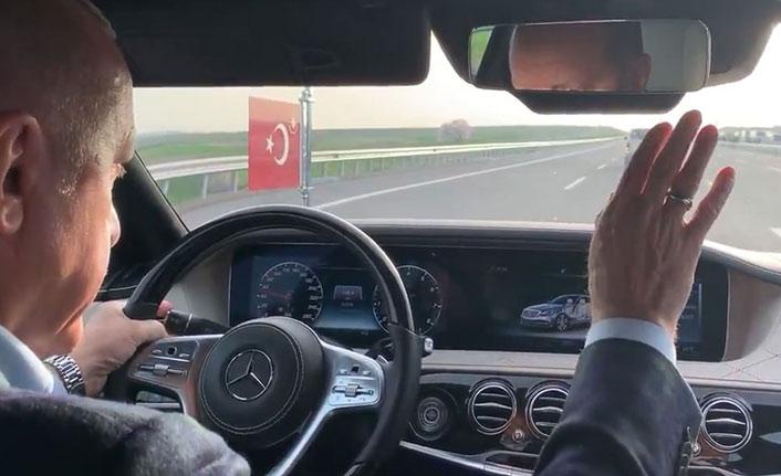 Erdoğan Rizespor'un maçını böyle takip etti