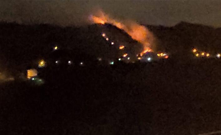 Trabzon'da orman yangını! Ekipler olay yerinde!