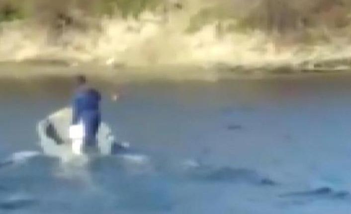 Yunanlar ölüme terketti, Türk balıkçı kurtardı