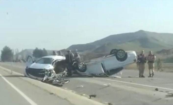 Batman'da feci trafik kazası