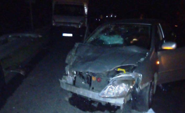 Şanlıurfa'da korkutan zincirleme kaza