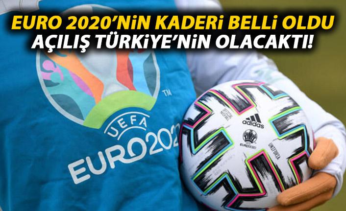 EURO 2020'nin kaderi belli oluyor!