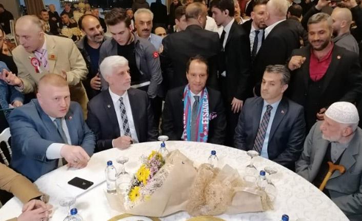 Fatih Erbakan Trabzon'da