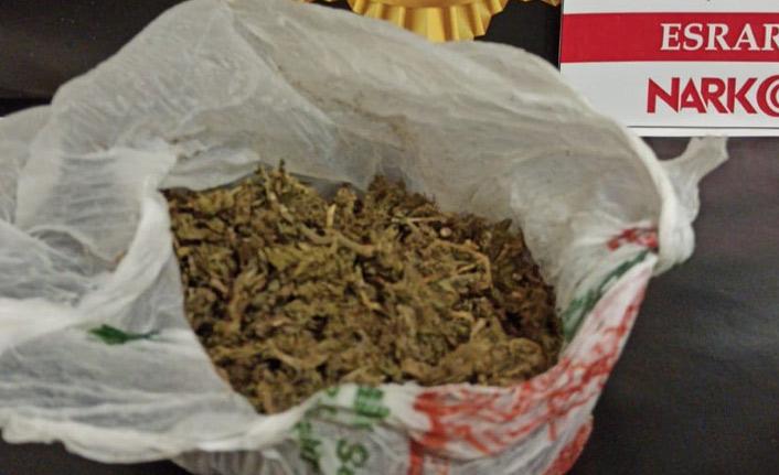 Bayburt'ta uyuşturucu operasyonlarında 10 kişi yakalandı