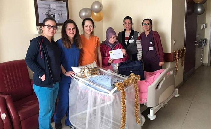Bayburt'ta yeni doğan bebeklerin hediyesi hazır