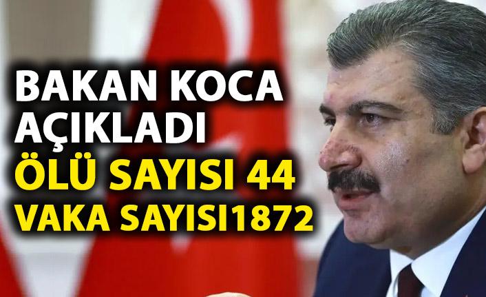 Sağlık Bakanı Koca'dan Koronavirüs açıklaması! Türkye'de bugün 7 kişi hayatını kaybetti