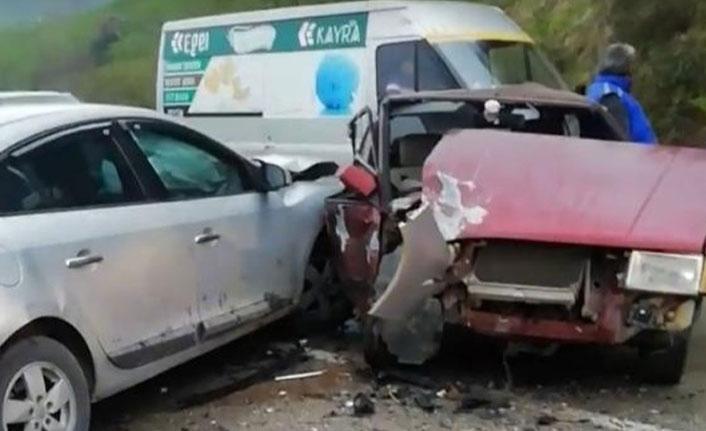 Ordu'da kaza: 3 yaralı
