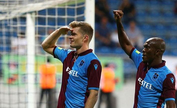 Trabzonspor'un yabancıları fark yarattı